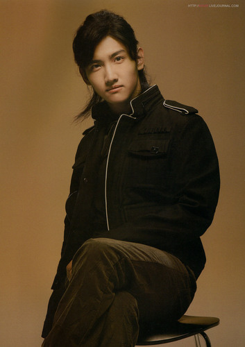 Max Changmin wallpaper possibly containing an outerwear, a well dressed person, and a box cappotto entitled Max