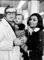 Michael Caine, Shakira and Natasha 1973