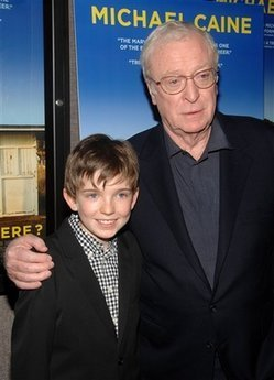 Michael Caine and Bill Milner