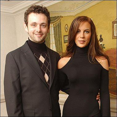 Michael Sheen with Kate Beckinsale - michael-sheen PhotoMichael Sheen And Kate Beckinsale