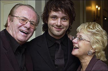 Michael Sheen with his parents