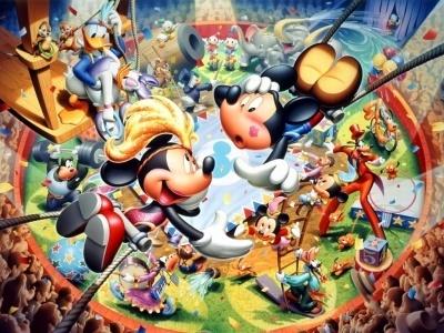 Mickey&Minnie universe