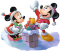 Mickey and Minnie pasko