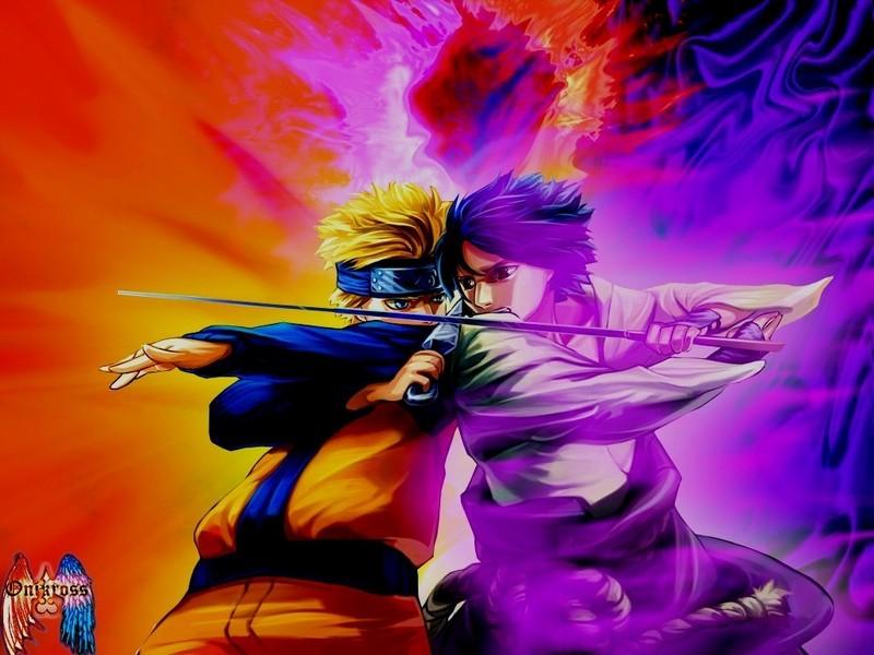 wallpaper naruto vs sasuke. Naruto VS Sasuke