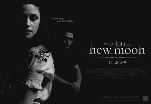 New Moon (Fan Art) پیپر وال