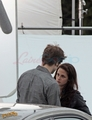 New Moon On Set - twilight-series photo