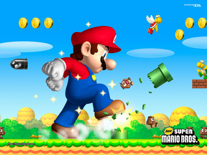 super mario wallpapers. New Super Mario Brothers