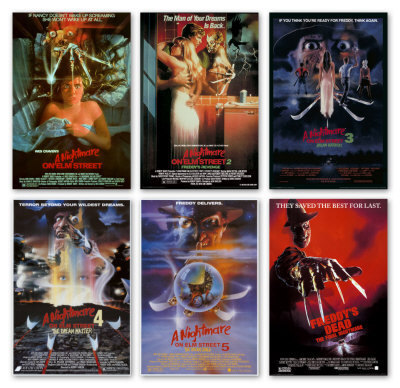 Nightmare on Elm rua Poster Collection