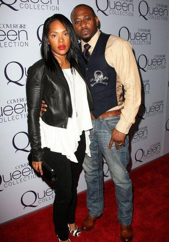 Omar Epps: queen Latifah's Birthday Party