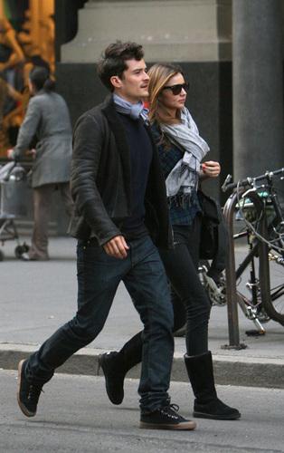Orlando and Miranda in NYC