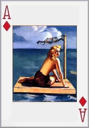 Pin Up Girls wallpaper entitled Pin- Up Playing Cards