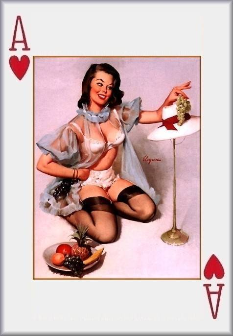 Pin- Up Playing Cards