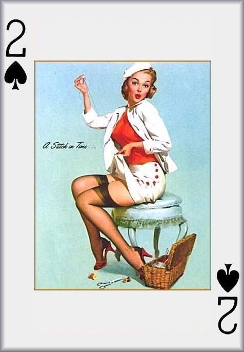 PIN UP PLAYING CARDS com - Heidi Van Horne