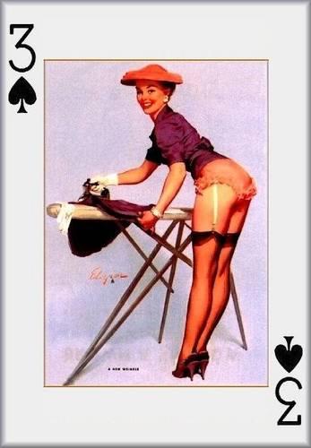 pin up girl wallpaper called Pin- Up Playing Cards