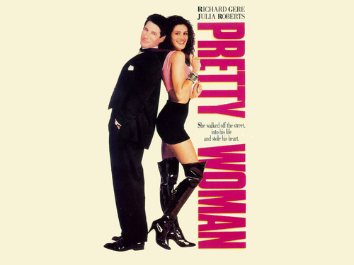 Pretty Woman wolpeyper containing bare legs, tights, and hosiery titled Pretty Woman