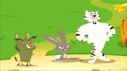 Rabbit, Pig, & Tiger
