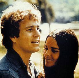 Ryan O'Neal&Ally MacGraw - Love Story - Love Story: The Movie ...