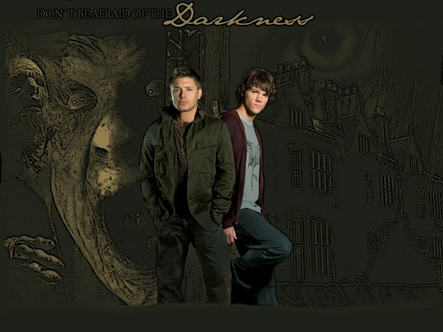 SPN Darkness - supernatural Wallpaper