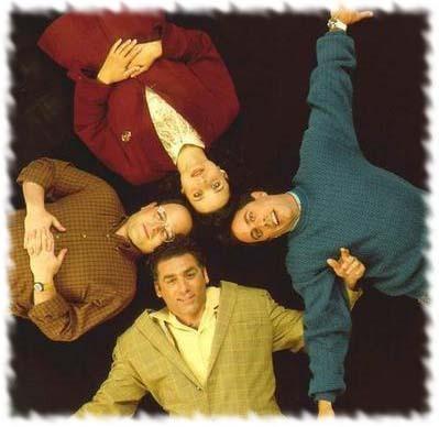 Seinfeld kertas dinding titled Seinfeld