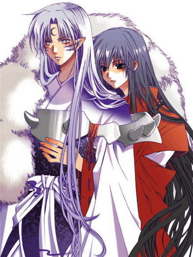 Yaoi wallpaper titled Sesshomaru and Inuyasha