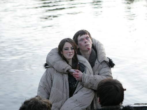 Shooting the Series 3 Finale