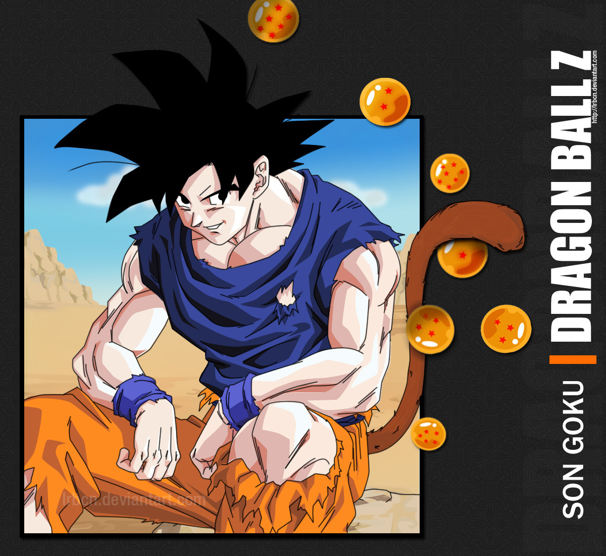 The universe transforms into an anime universe page 5 - Dragon ball z goku son ...