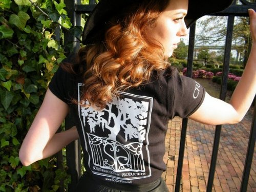 Southern gothique Productions Logo & T-shirts