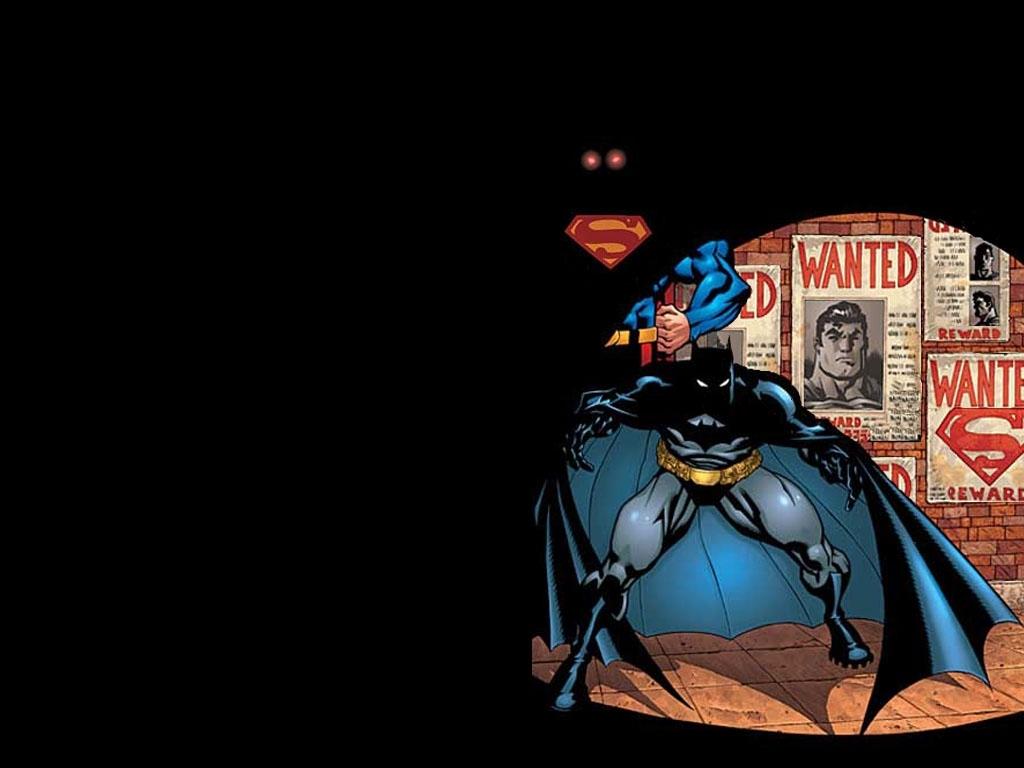 batman and superman cartoon wallpaper - photo #14