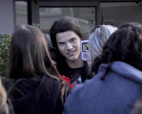 Taylor Lautner out in Vancouver - April 6