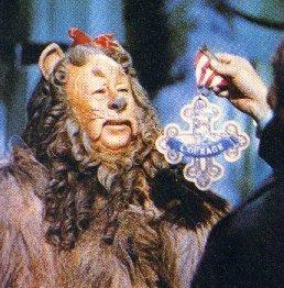 オズの魔法使 壁紙 entitled The Cowardly Lion