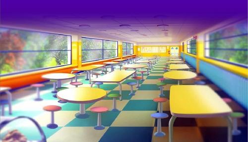 The school cozinha