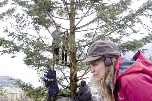पेड़ Climbing Scene