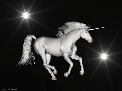 Unicorn karatasi la kupamba ukuta