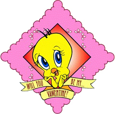 Valentine Tweety Bird