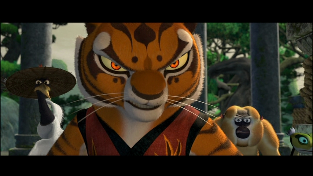 Kung Fu Panda Tigress | Car Interior Design
