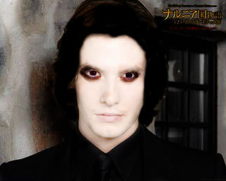 Twilight Series wallpaper containing a business suit called ben barnes as aro