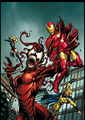 carnage Vs iron man - marvel-comics photo