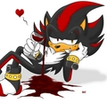 shadow's drinking - shadow-the-hedgehog photo