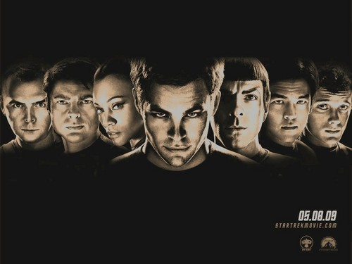 stxi iconic - star-trek-2009 Wallpaper