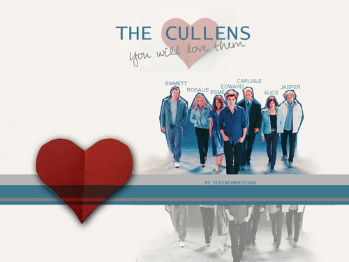 Mr and Mrs Cullen 바탕화면 titled wallpapers...