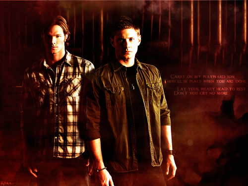 **SPN** - supernatural Wallpaper