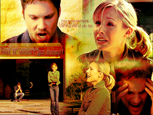 Veronica Mars wallpaper containing a sign entitled A Trip to the Dentist