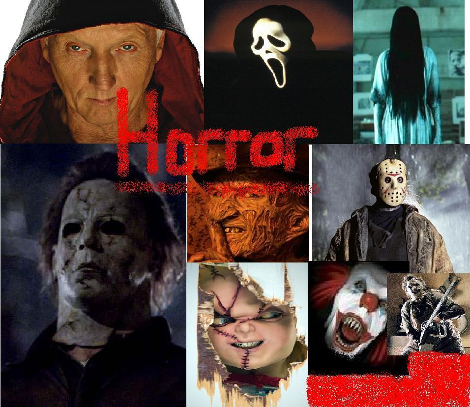 A horror collage by Me