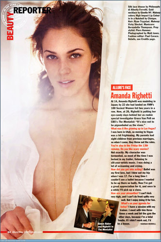 Amanda in May 09 Allure