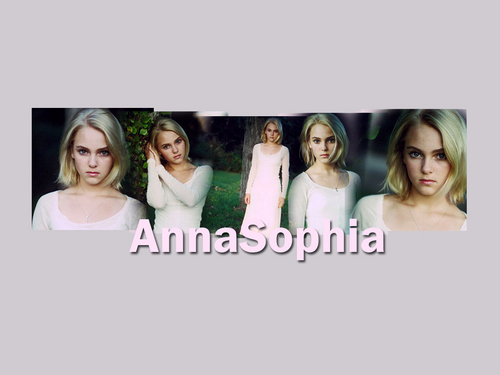 AnnaSophia پیپر وال