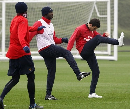 Arsenal Training Pics
