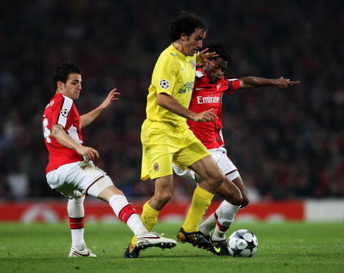 Arsenal vs. Villarreal,April 15,2009