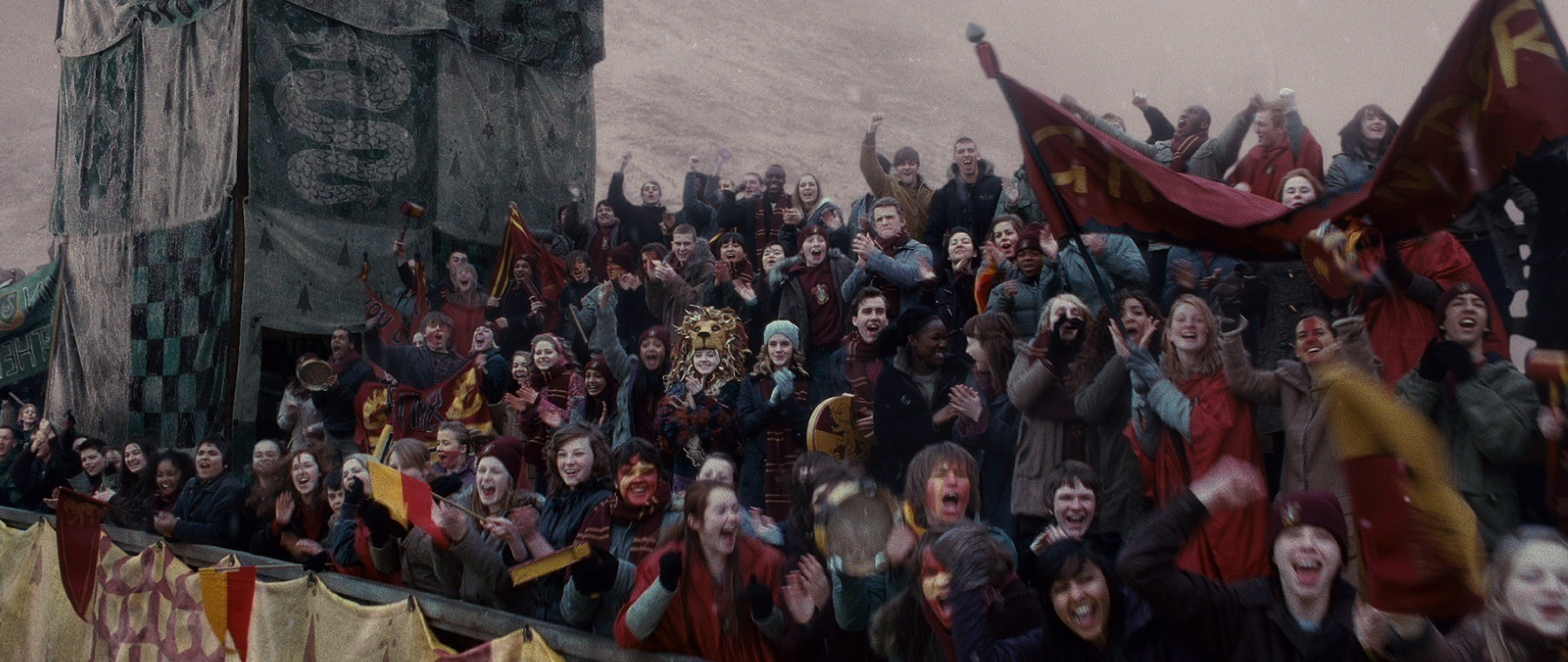 At the Quidditch Game