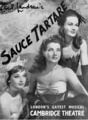 Audrey featured on the cover of the Sauce Tartare