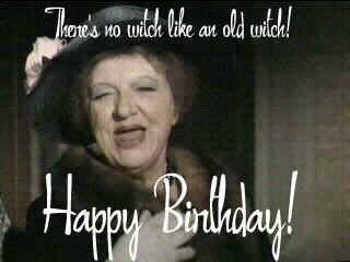 Aunt Clara Wishes Elizabeth A Belated Happy Birthday  - bewitched Photo